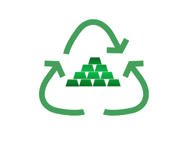 Recycling Makes the Yellow Metal Greener