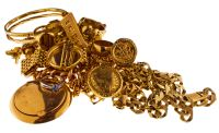 Pile of Gold Jewellery